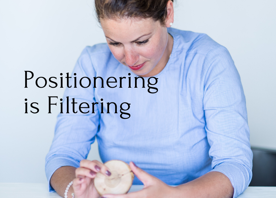 Positionering is Filtering