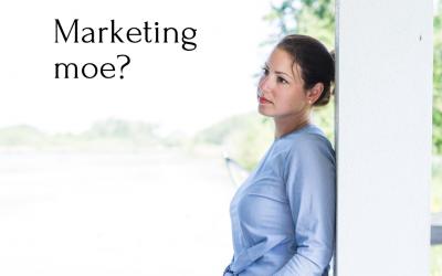 Moe van marketing? Dat is heel normaal